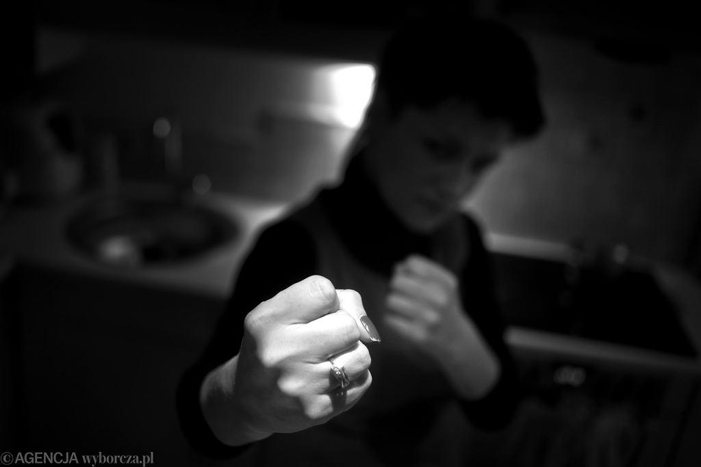 Przemoc domowa. Zdj. ilustracyjne