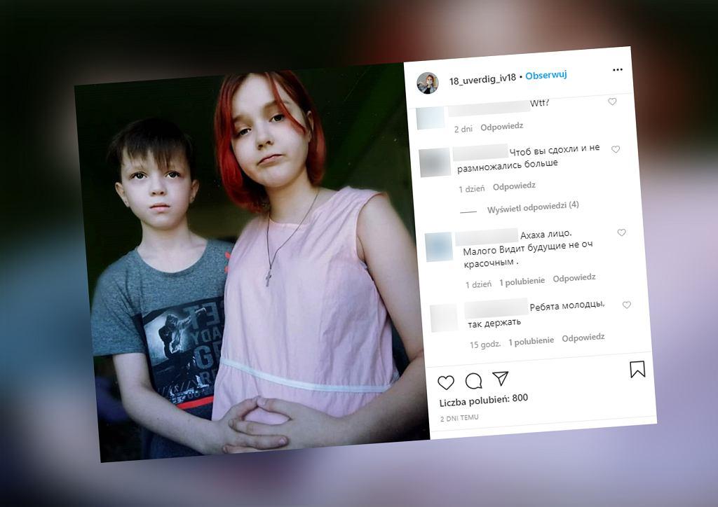 Rosja. 13-latka zaszła w ciążę z 10-latkiem? Dziewczyna zmieniła stanowisko