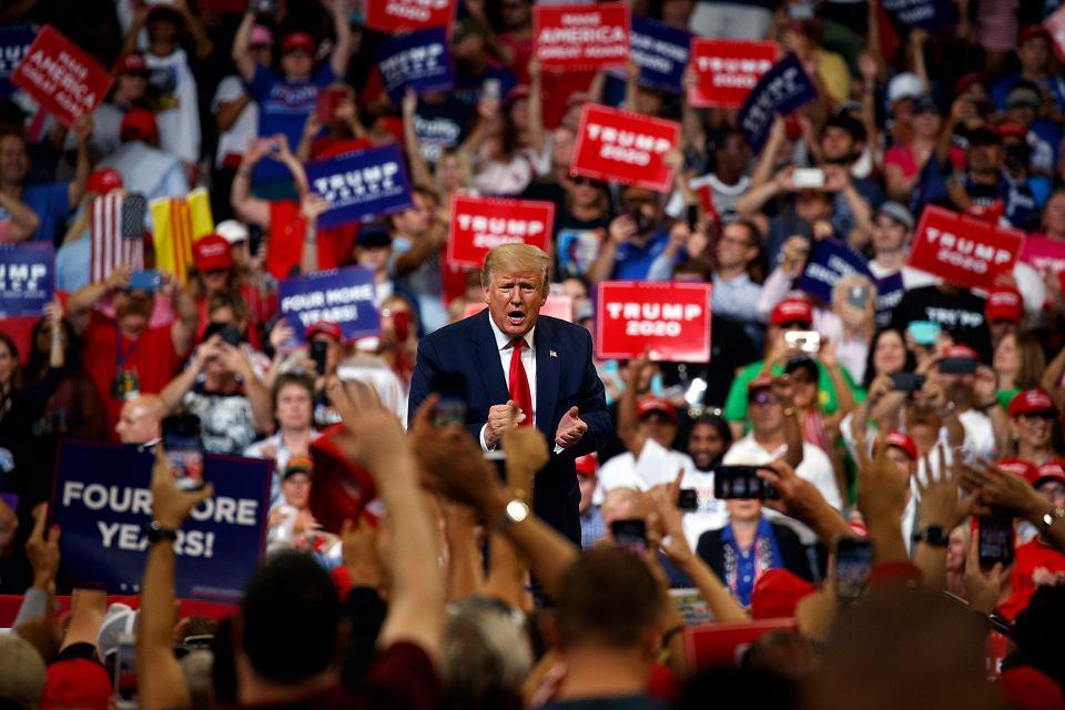 Wiec Donalda Trumpa na Florydzie