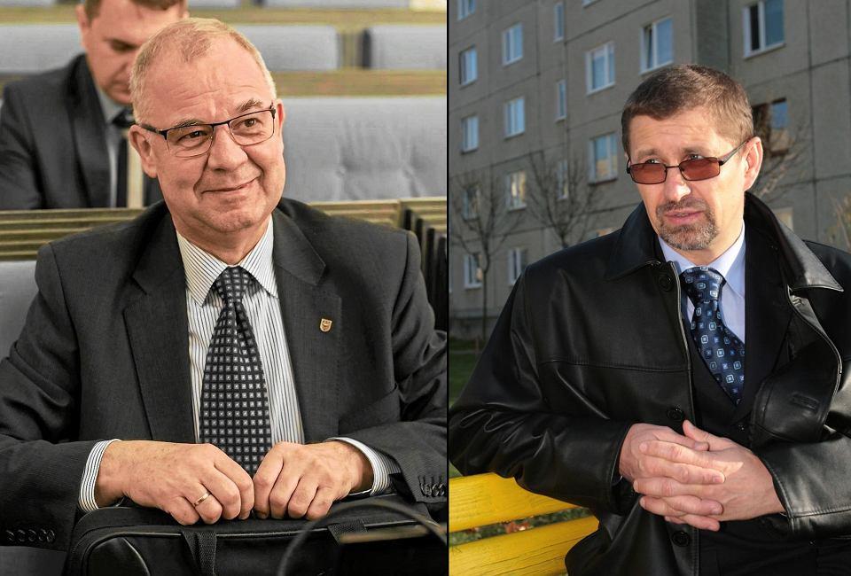 Krzysztof Skóra i Jan Zubowski