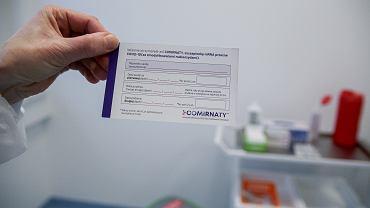 Pierwszy dzień szczepienia seniorów przeciw COVID w Bydgoszczy