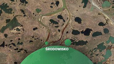 Rosja. Wyciek oleju napędowego w Arktyce.