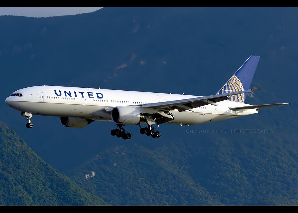 Boeing 777 linii United Airlines