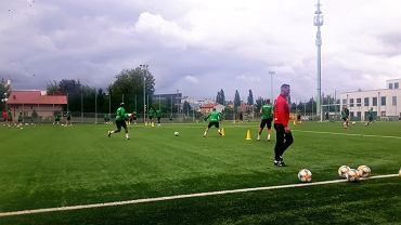 Legia Warszawa trenuje w Ząbkach