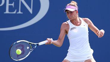 US Open. Magda Linette w meczu z Agnieszką Radwańską