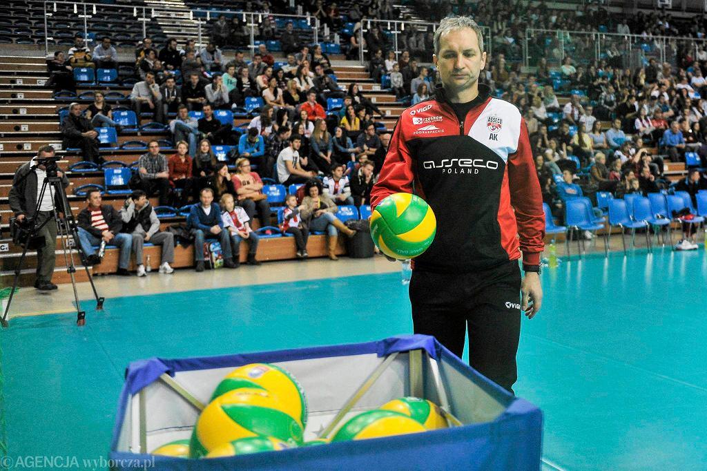 Andrzej Kowal, trener Asseco Resovii