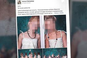 """Kilkuletnie dziewczynki w kobiecej bieliźnie. Sesja oburzyła Ukraińców. """"To jest odrażające"""""""