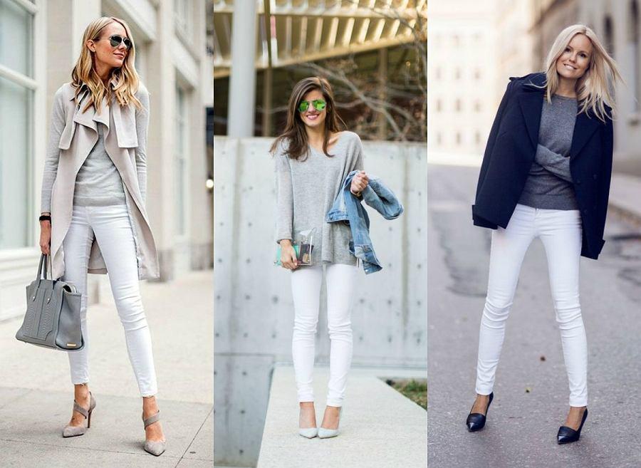 1e8ae899 Białe jeansy jesienią - zobacz, jak je nosić
