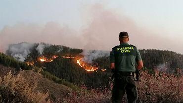 Pożar na Gran Canarii obejmuje coraz większe obszary