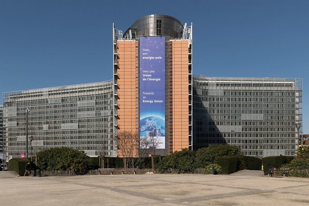 Berlaymont - budynek Komisji Europejskiej (fot. Andersen Pecorone/Flickr/Wikimedia Commons/CC BY-SA 2.0)