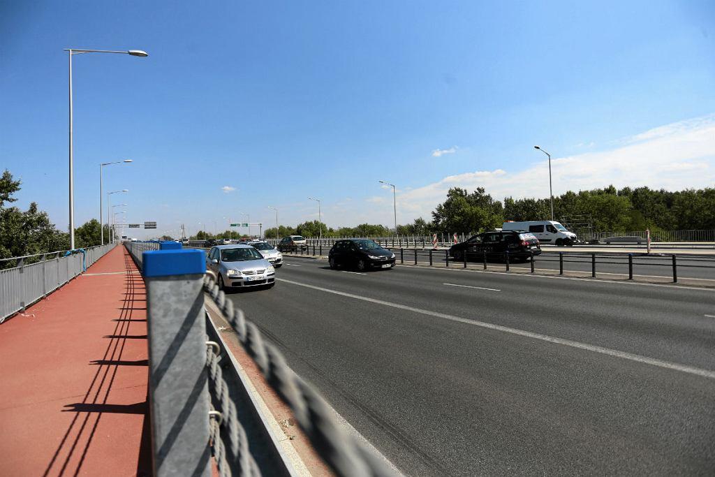 Końcowa faza remontu mostu Grota Roweckiego