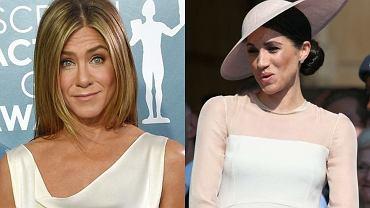 """Meghan Markle zagrała na nerwach Jennifer Aniston. Aktorka """"Przyjaciół"""" uważa, że Meghan jest dwulicowa"""