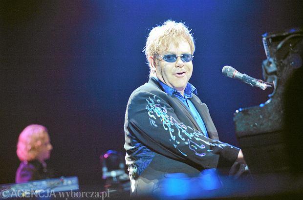 Elton John - koncert w Warszawie w 2010 roku.