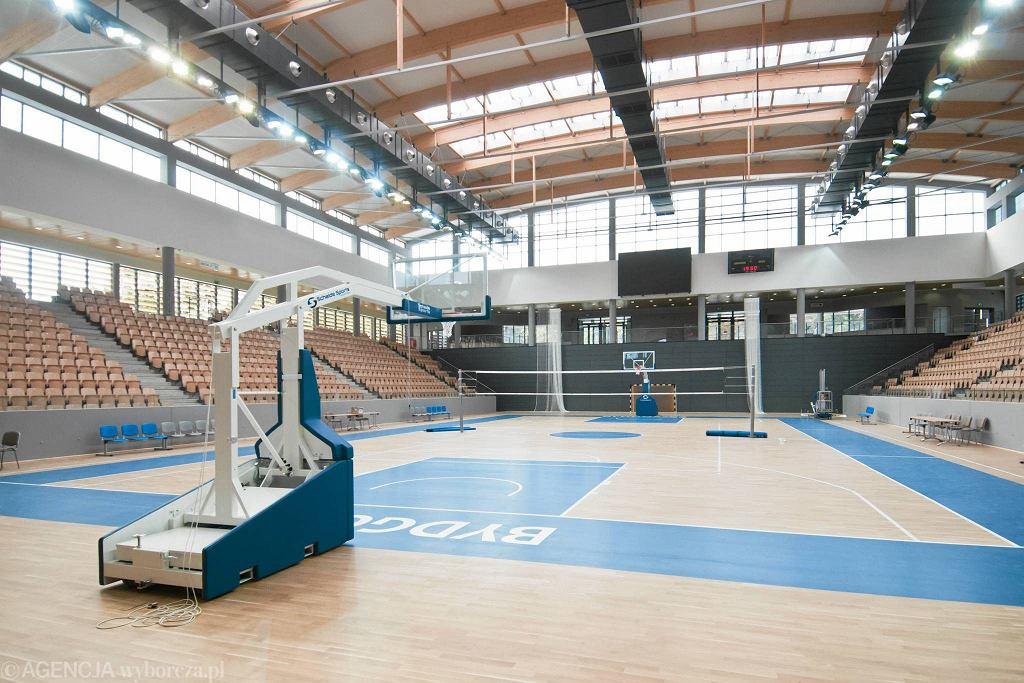 Wnętrza hali Artego Arena