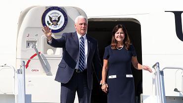 Mike Pence z żoną Karen