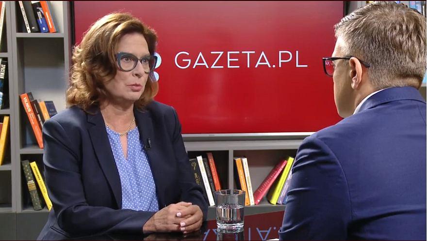 Małgorzata Kidawa-Błońska w rozmowie z Łukaszem Kijkiem
