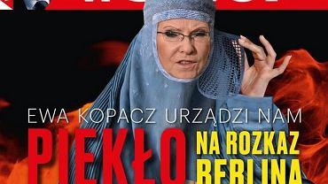 """Okładka czasopisma """"wSieci"""""""