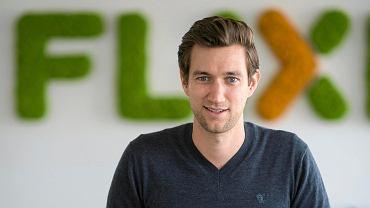 Jochen Engert, założyciel firmy Flixbus.