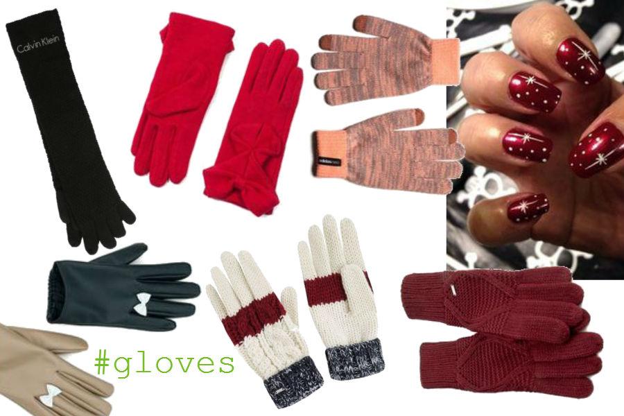 fot. materiały prasowe, modne rękawiczki, kolaż follow