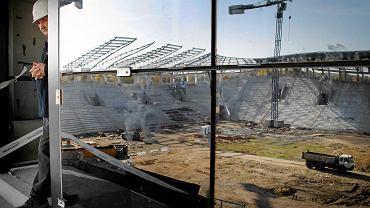 Budowa Stadionu Miejskiego w Tychach