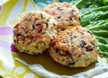Burgery łososiowo-ryżowe - ugotuj