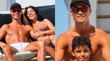 Cristiano Ronaldo cu familia sa în vacanță