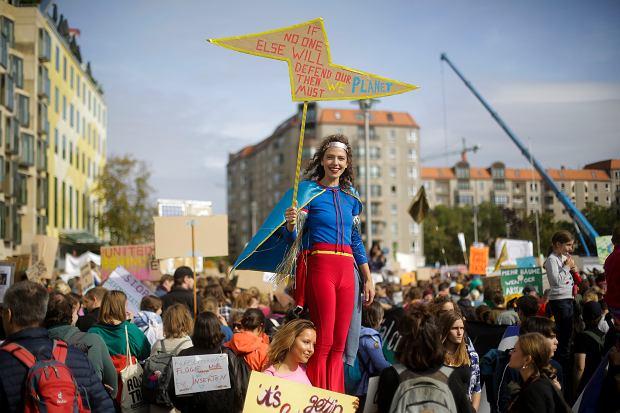 Berlin. Strajk Klimatyczny
