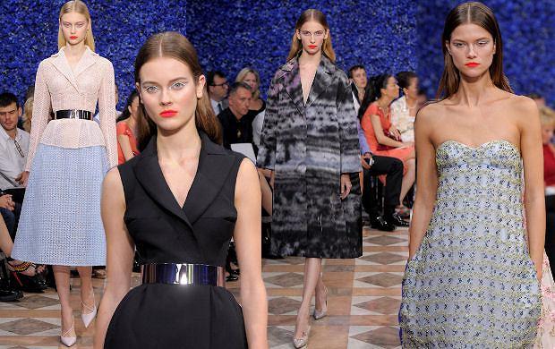 Dior haute couture jesień 2013 - debiut Rafa Simonsa