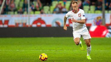 Polska - Czechy 0:1 na Stadionie Energa w Gdańsku. Kamil Grosicki