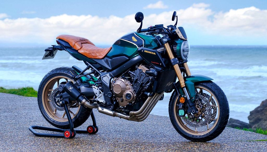 Honda CB650R FOUR FLAT TRACKER