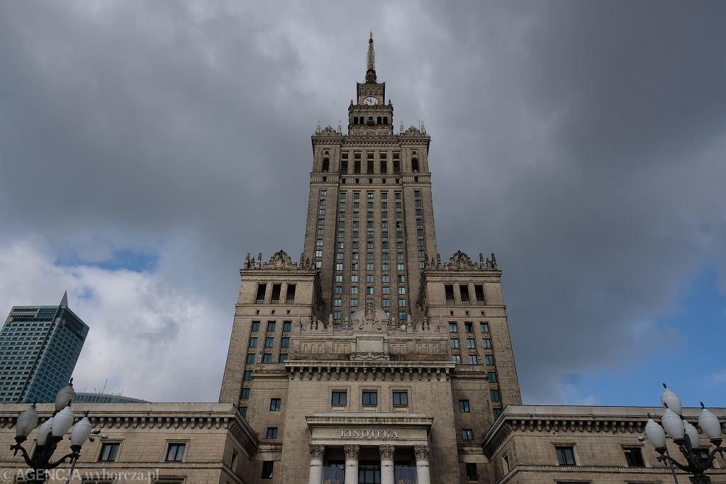 Warszawa. Pałac Kultury i Nauki
