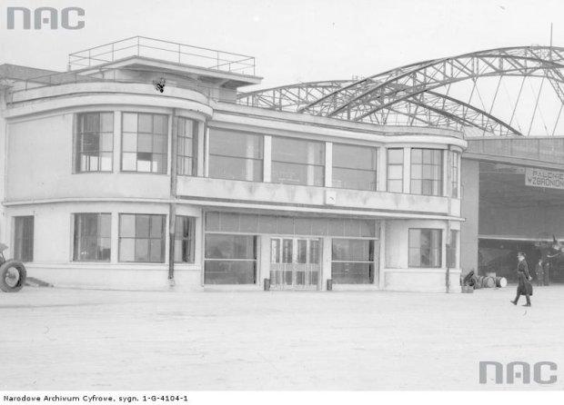Lotnisko Okęcie w 1934 roku
