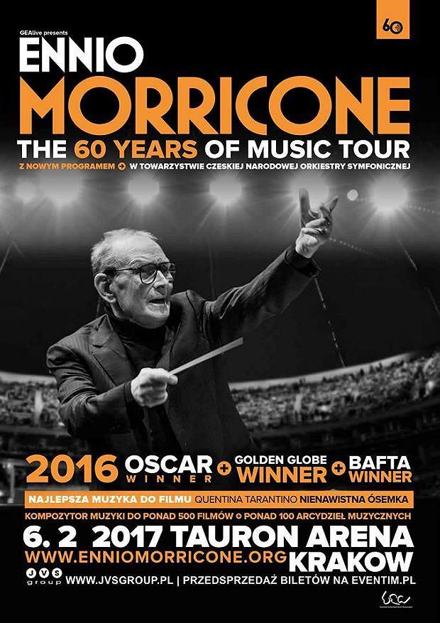 Koncert Ennio Morricone w Polsce!