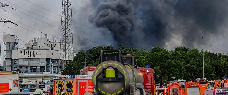 Gigantyczna eksplozja w zakładach chemicznych w Niemczech