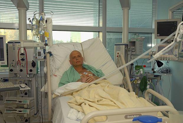 Listopad 2006 r., otruty polonem Aleksandr Litwinienko umiera w londyńskim szpitalu