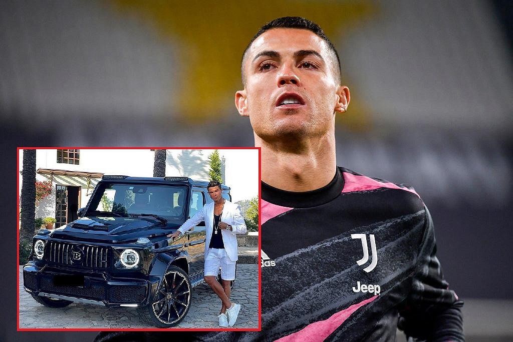 Cristiano Ronaldo i jego wóz