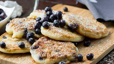 Pancakes z borówkami. Zdj. ilustracyjne