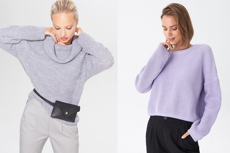 Klasyczne swetry damskie