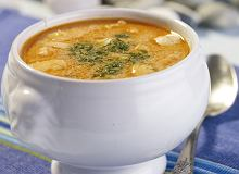 Zupa rybna z łososia i makreli - ugotuj