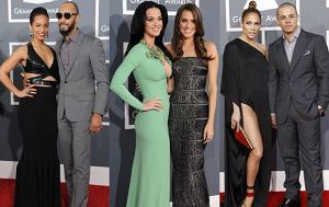 Alicia Keys, Swizz Beats, Katy Perry i Allison Williams, Jennifer Lopez, Casper Smart