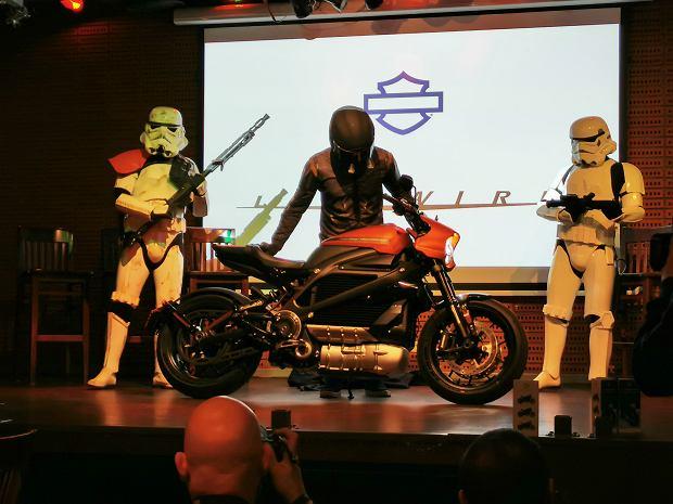 Harley-Davidson Livewire w Warszawie