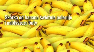 Do czego wykorzystać skórki bananów?