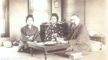 Bronisław Piłsudski w Japonii. Ze zbiorów Archiwum Narodowego w Krakowie, sygn. 29/645/435