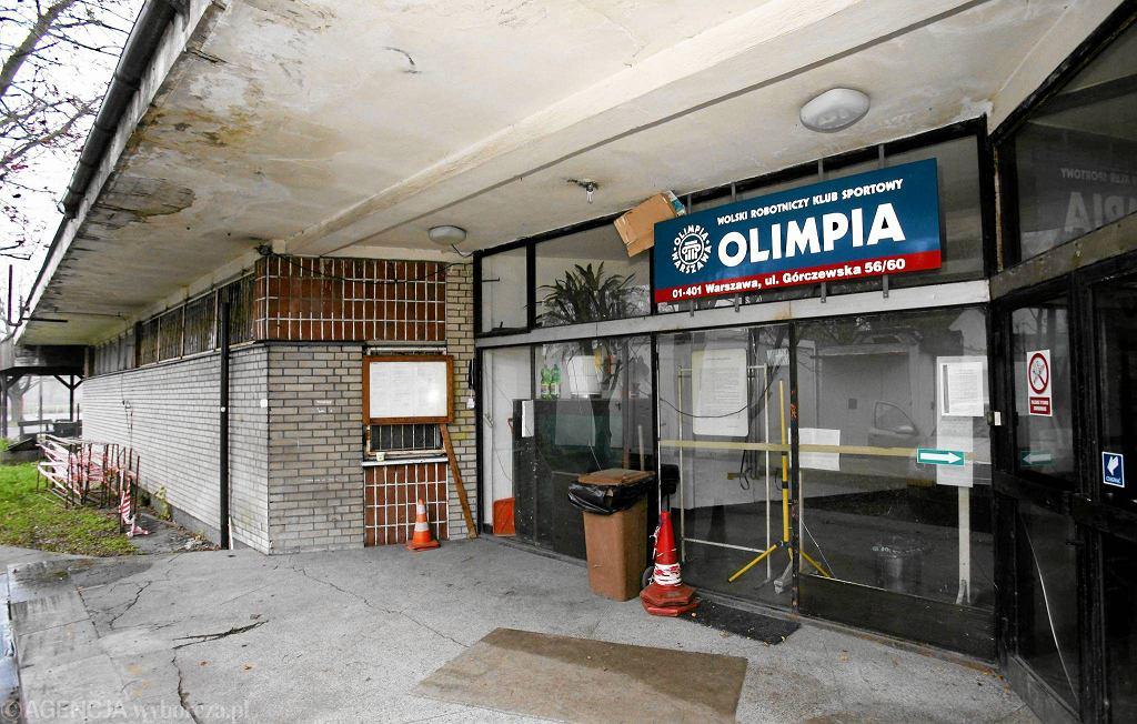 Siedziba Wolskiego Robotniczego Klubu Sportowego Olimpia Warszawa