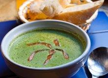Zupa krem ze szpinaku z wędzonym łososiem - ugotuj