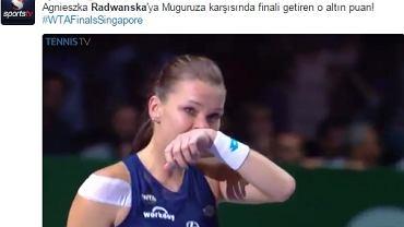 Radwańska/Twitter