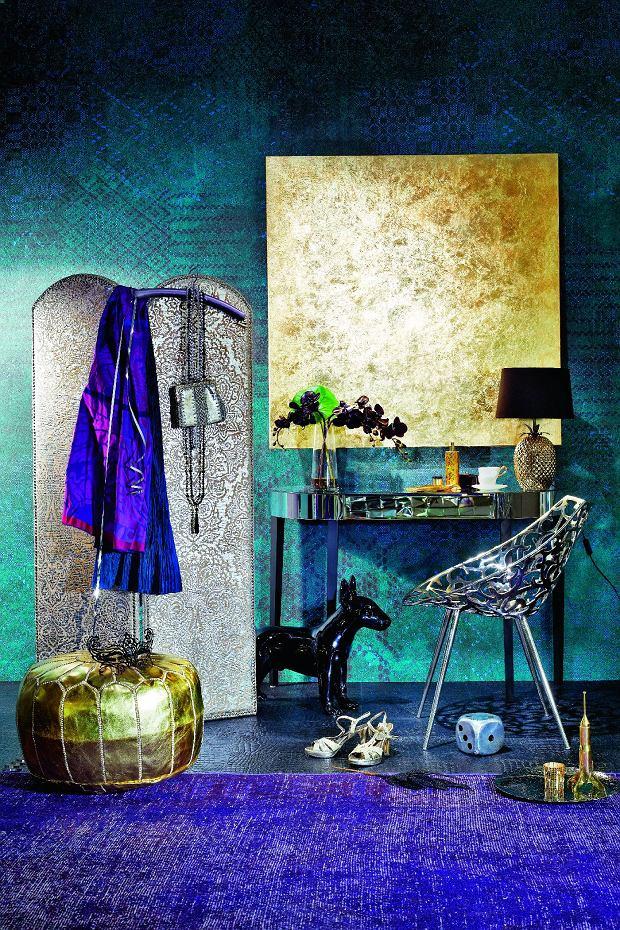 Moda na złoto we wnętrzach. Złota lista przebojów