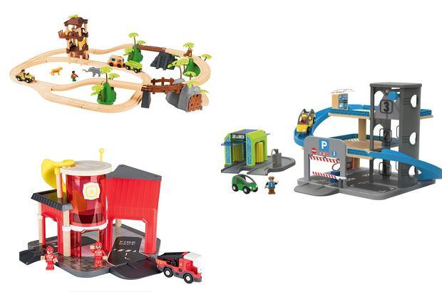 Lidl. Promocja na zabawki drewniane: kolejki i tory dla samochodów