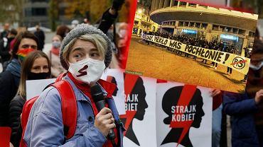 Kibice włączają się w protesty
