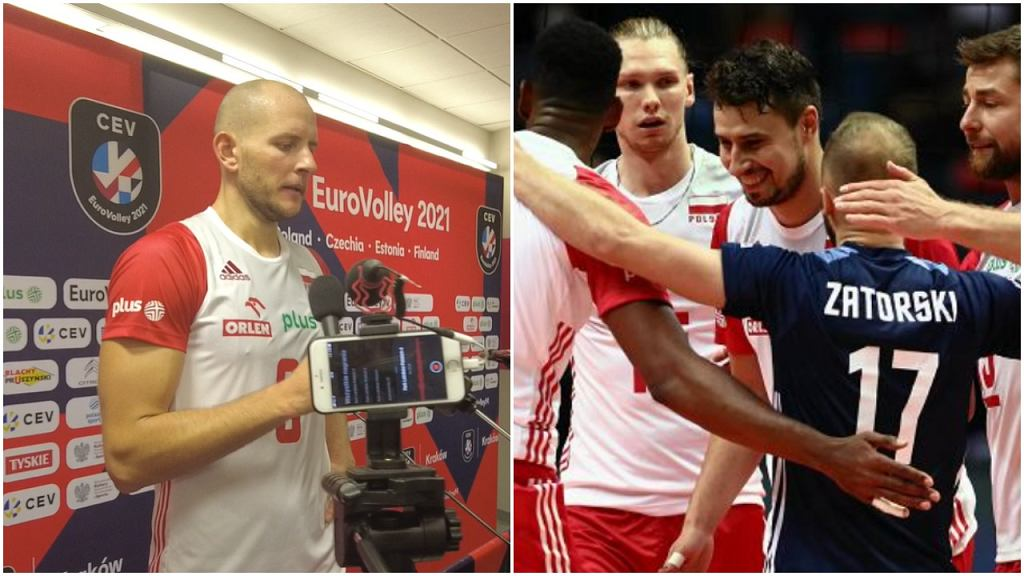 Bartosz Kurek po meczu Polska - Portugalia